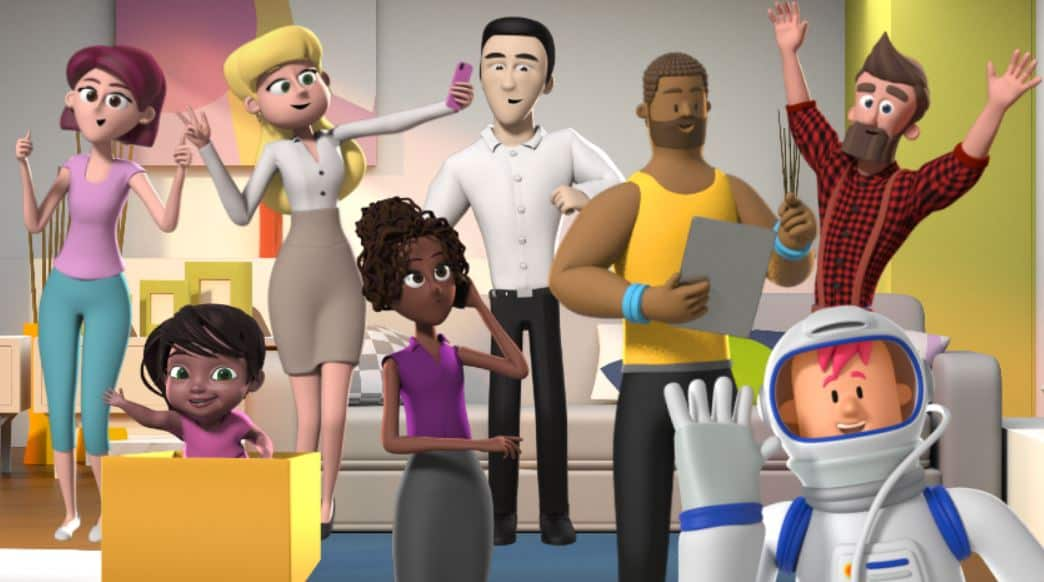 free 3d characters