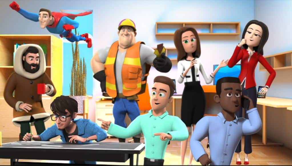 july 3d characters